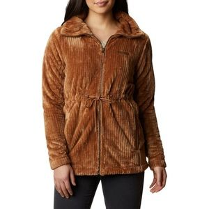 Columbia Fire Side Faux Shearling Long Jacket